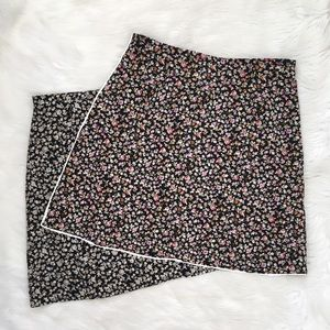 Vintage 90s High Waisted Floral Print Skirt Bundle